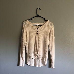Tillys Full Tilt White Sweater